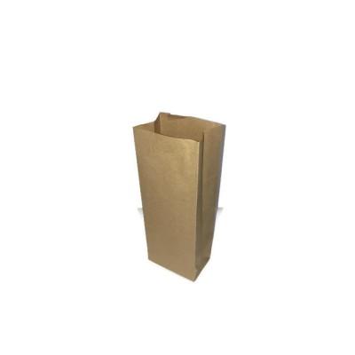 Пакет бумажный, крафт, б/п, 80*50*230
